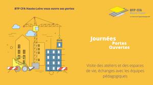 JPO 2021 au BTP CFA Haute-Loire