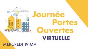 Journées Portes Ouvertes virtuelles - 19 mai 2021 - BTP CFAAURA